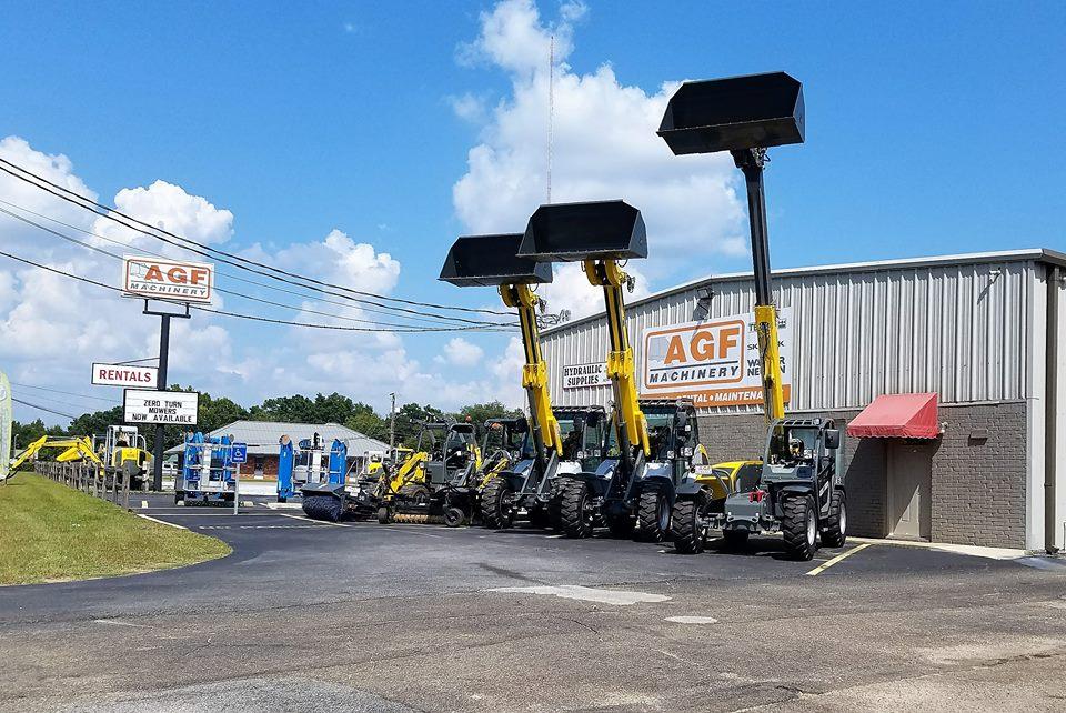 Construction Equipment Rentals   AGF Machinery Rentals Alabama